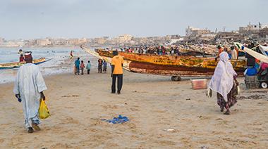 Boats Senegal