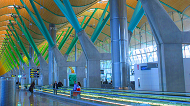 Barajas Airport, Spain
