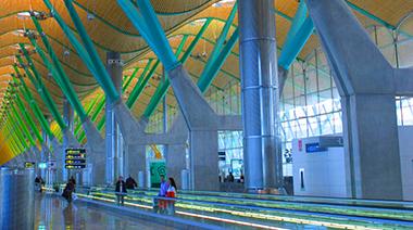Barajas Airport, Spain